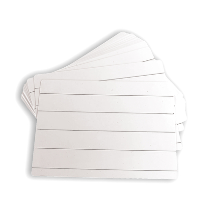 Budget Dry\-wipe Board \- Pk of 30  large