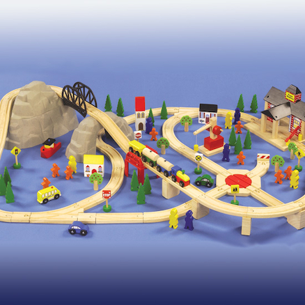 Small World Train Set 112pcs  large