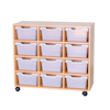 12 Cubby Tray Unit H800mm  small