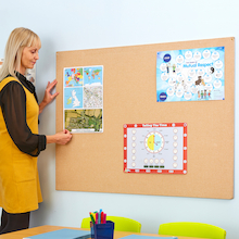 ColourTex Textile Noticeboard Unframed  medium
