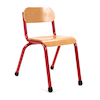 Copenhagen Furniture Classroom Set Red H210mm  small