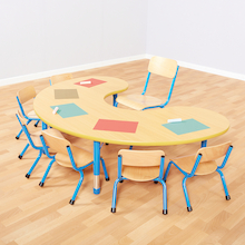 Copenhagen Height Adjust Classroom Table  medium