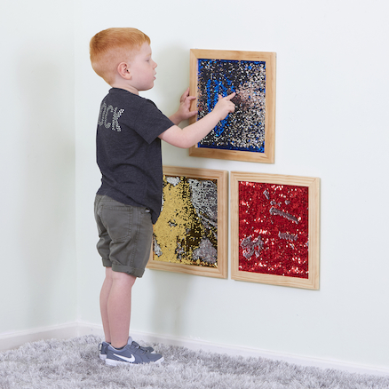 Mermaid Sequin Motor Skills Frames  large