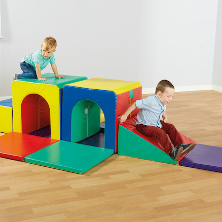 Hide and Seek Soft Play Set  large