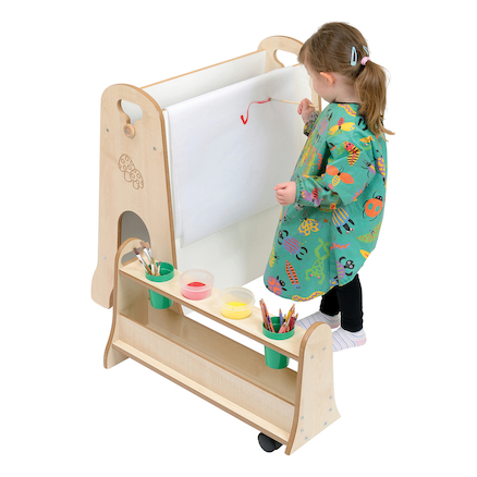 Toddler Easel with Storage  large