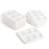 6 Well Plastic Palette White  small