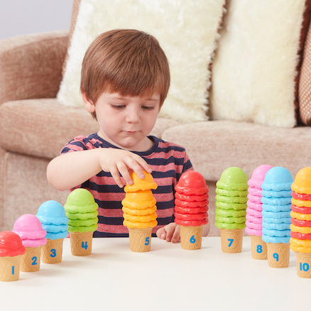 Ice\-Cream Counting Cones  large