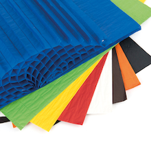 Assorted Honeycomb Tissue Paper  medium