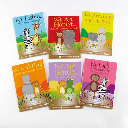 Golden Rules Story Books 6pk  large