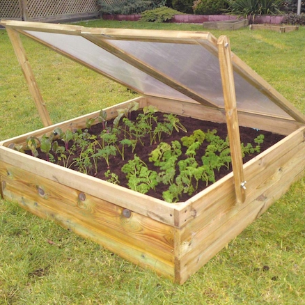 Raised Bed Coldframe  large
