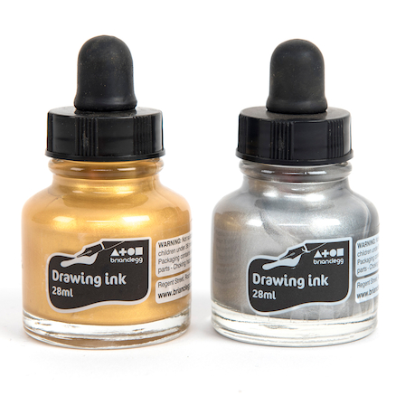 Metallic Drawing Ink 28ml Buy all and Save  large