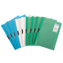 ECO Clip Files Assorted 10pk  medium