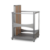 Fast Fold Dining Table Trolley  small