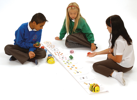 Bee-Bot® and Blue Bot Number Line Mat  large
