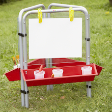 Outdoor Easy Clean Toddler Painting Easel  medium
