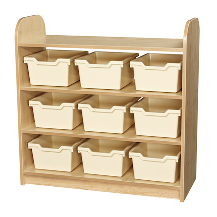 Kubbyclass Shelf Unit Open Back  large