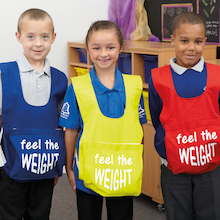 Weight Gain Bib  medium