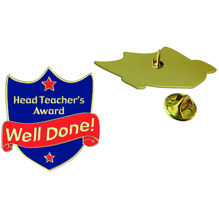 Headteachers Award Enamel Badges 20pk  large