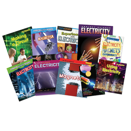 Using Magnetism and Electricity KS2 Book Pack  large