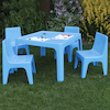 Polypropylene Table and Chairs Set  small