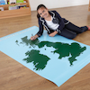 Large Wipeable Map of the UK 150 x 100cm  small