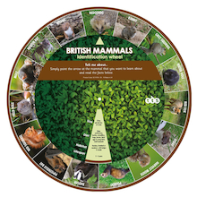 Mammals Identification Wheel  medium