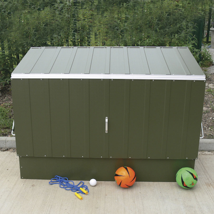 Outdoor Metal Storage Units  large