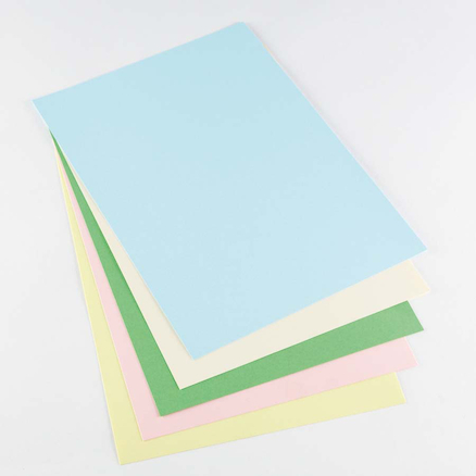 A4 Pastel Coloured Copier Card  large