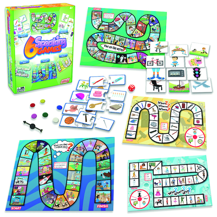 Speaking And Listening Games 6pk  large