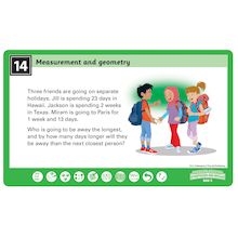 Problem Solving Skills Measure & Geometry  medium