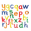 Squidgy Sparkle Transparent Gel Alphabet Letters  small