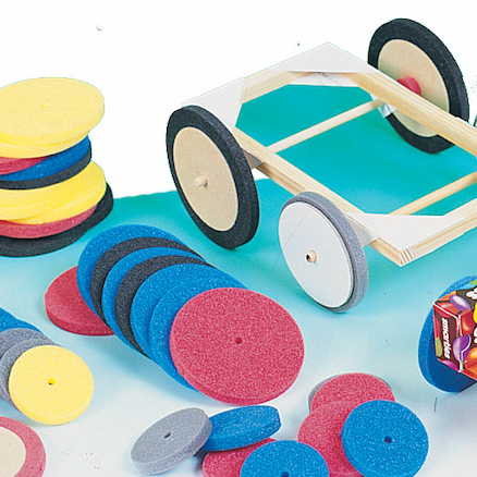 Foam Wheels 100pk  large
