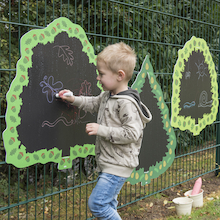 TTS Trees Mark Making Outdoor Chalkboards  medium
