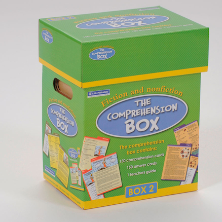 Reading Comprehension Boxes  large