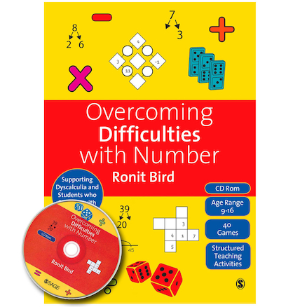 Overcoming Difficulties With Number Activity Book  large