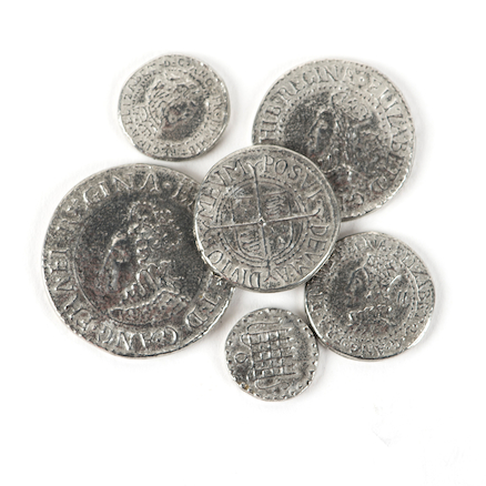 Elizabeth I Coin Set  large