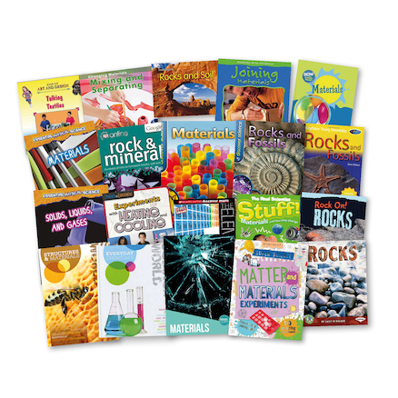 KS2 Exploring Materials Books  large