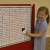 Magnetic Hundred Square Board and Numbers  small