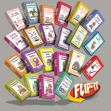 Flip-It Dyslexia Activity Cards Set  medium