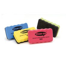 Show-me Magnetic Whiteboard Erasers  medium