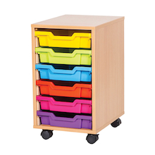 VALUE 6 Tray Storage Unit with Trays  medium