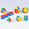 Solid Magnetic Polydron Set  small