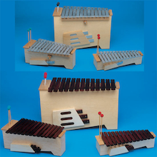 MES Xylophones and Metallophones 11pk  medium