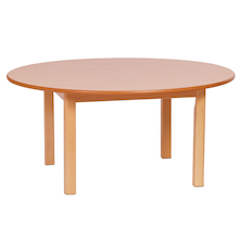 Millhouse Circular Wooden Table  medium