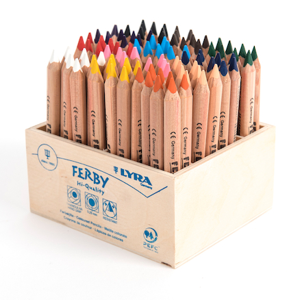 Lyra Ferby Assorted Colouring Pencils 96pk  large
