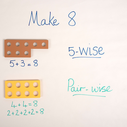 Five\-Wise Number Frames  large