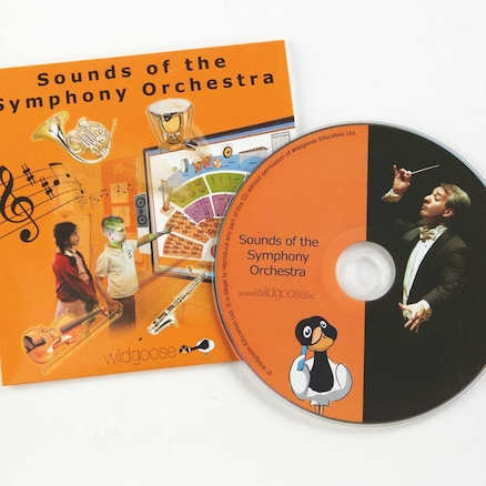 Sounds of the Symphony Orchestra CD rom  large