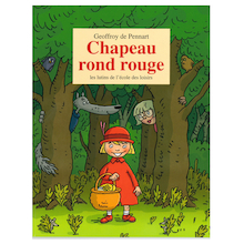 Chapeau rond rouge  medium