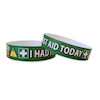I Had First Aid Today Wristbands  small