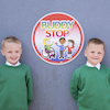 Buddy Stop Playground Sign  small